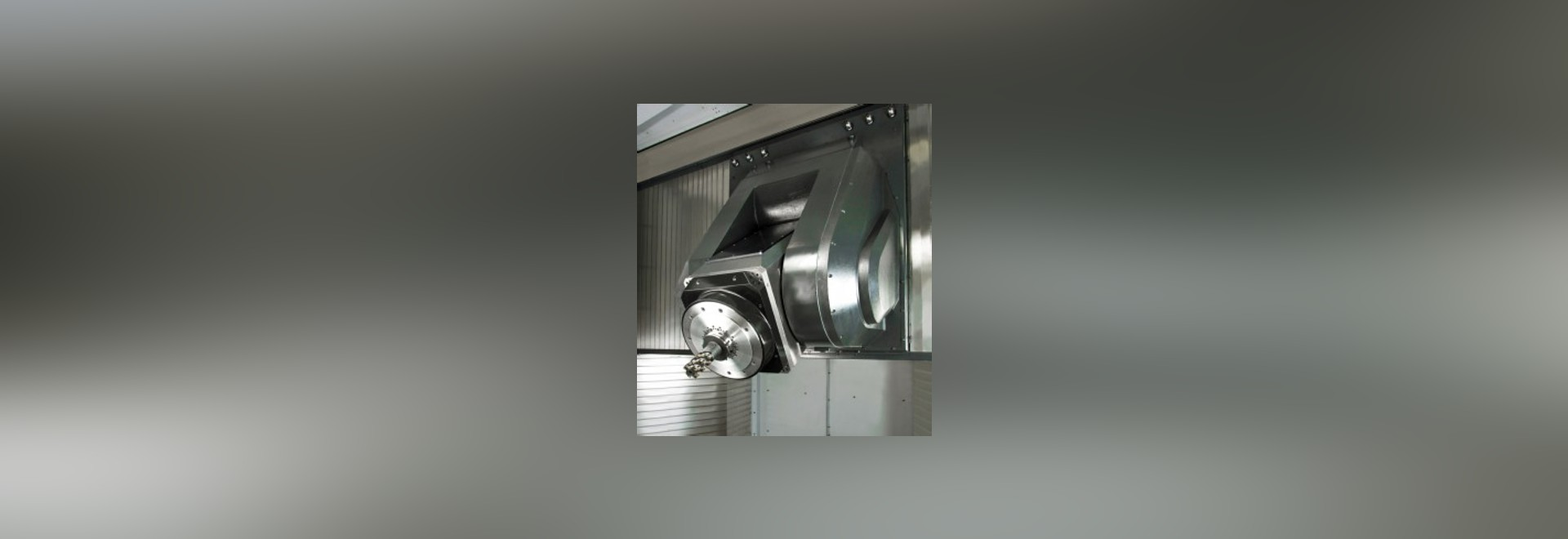 Five-axis machining centre