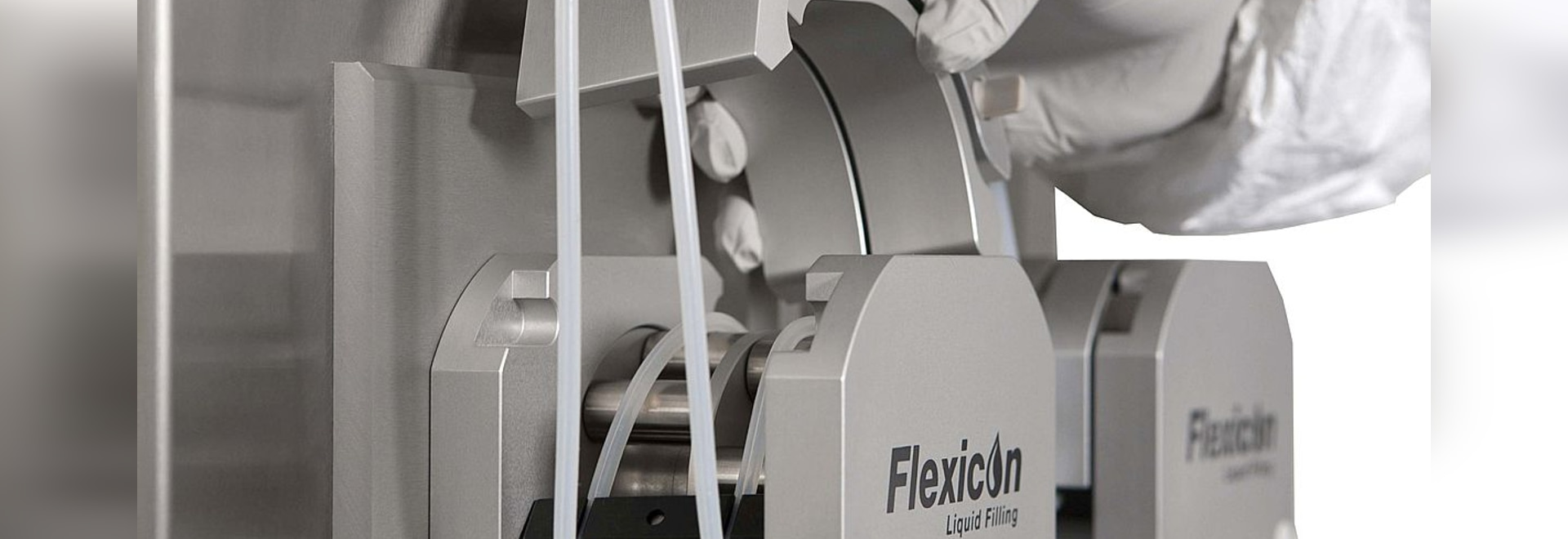 Flexicon pumps used to dose small volumes of liquid vitamins