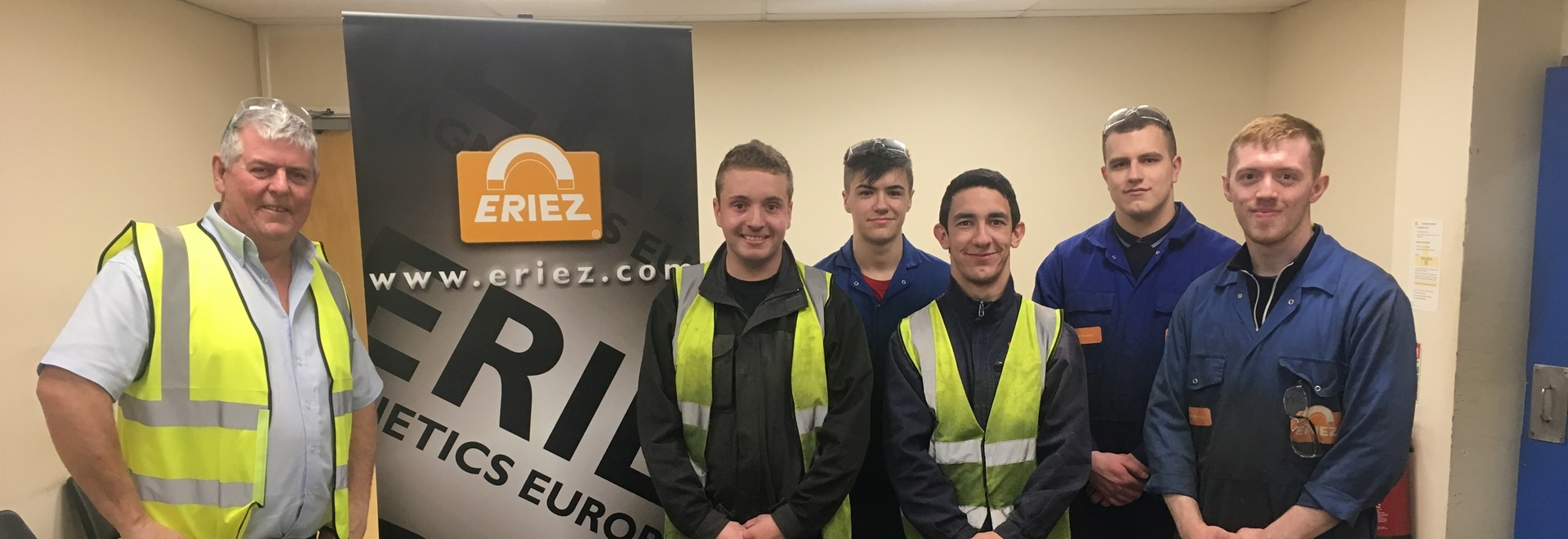 French Apprentices at Eriez