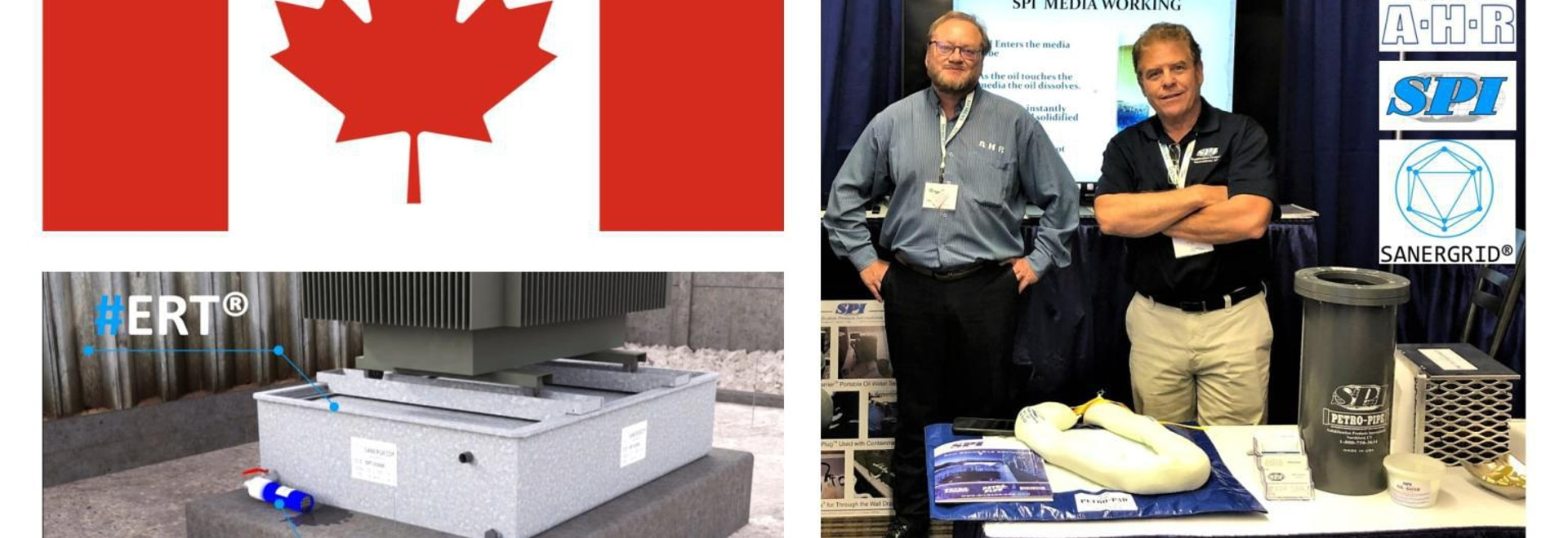 From September 16th to 19th, #SANERGRID was in Canada at #CIGRE #Montreal with its partners #AHR and #SPI.