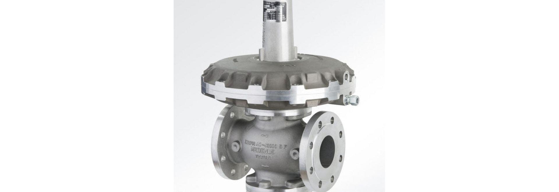 Gas pressure regulator series R100/R101