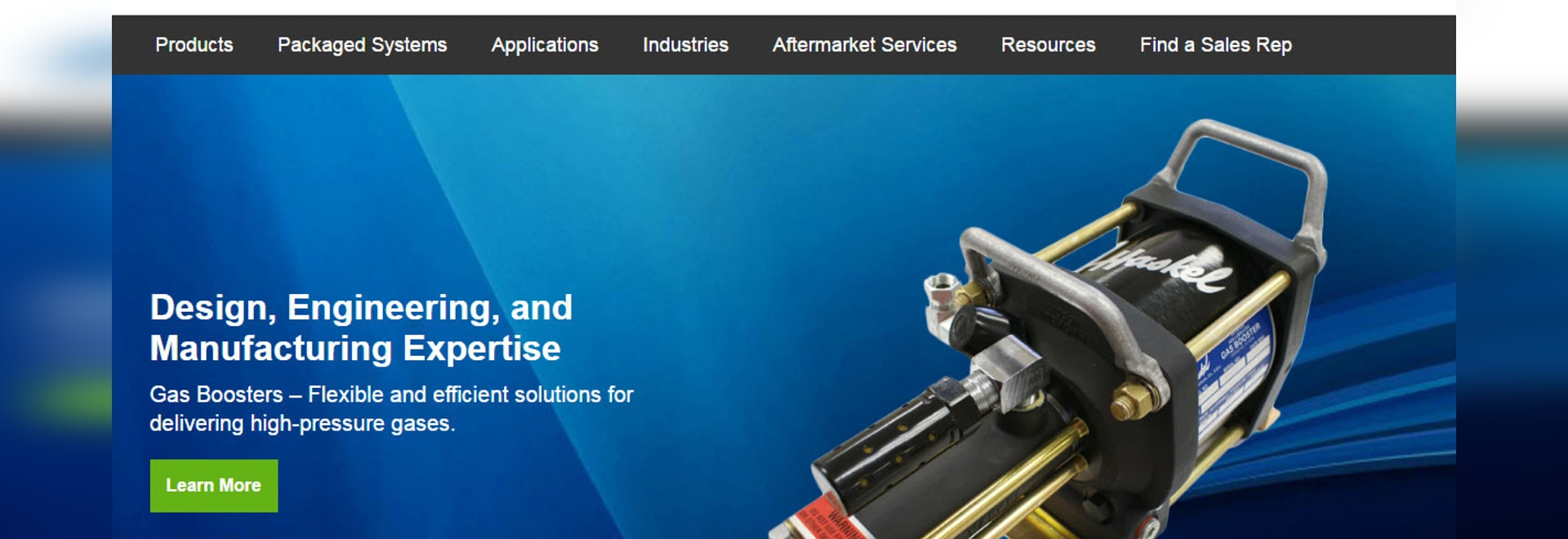 Haskel Launches New Website
