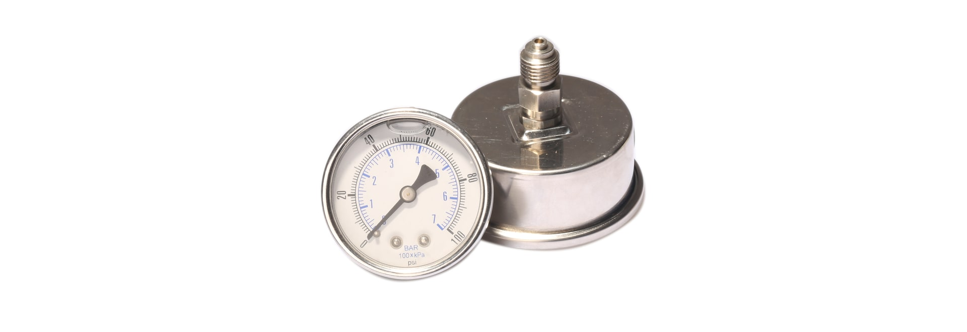 How to re-fill the oil into the pressure gauge