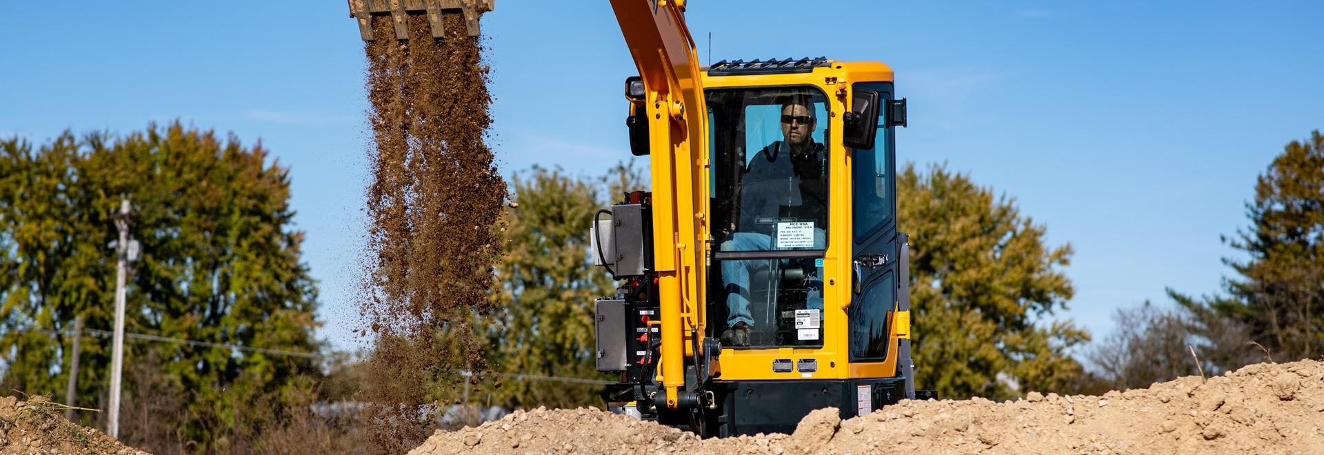 Hyundai, Cummins unveil jointly-developed electric mini excavator