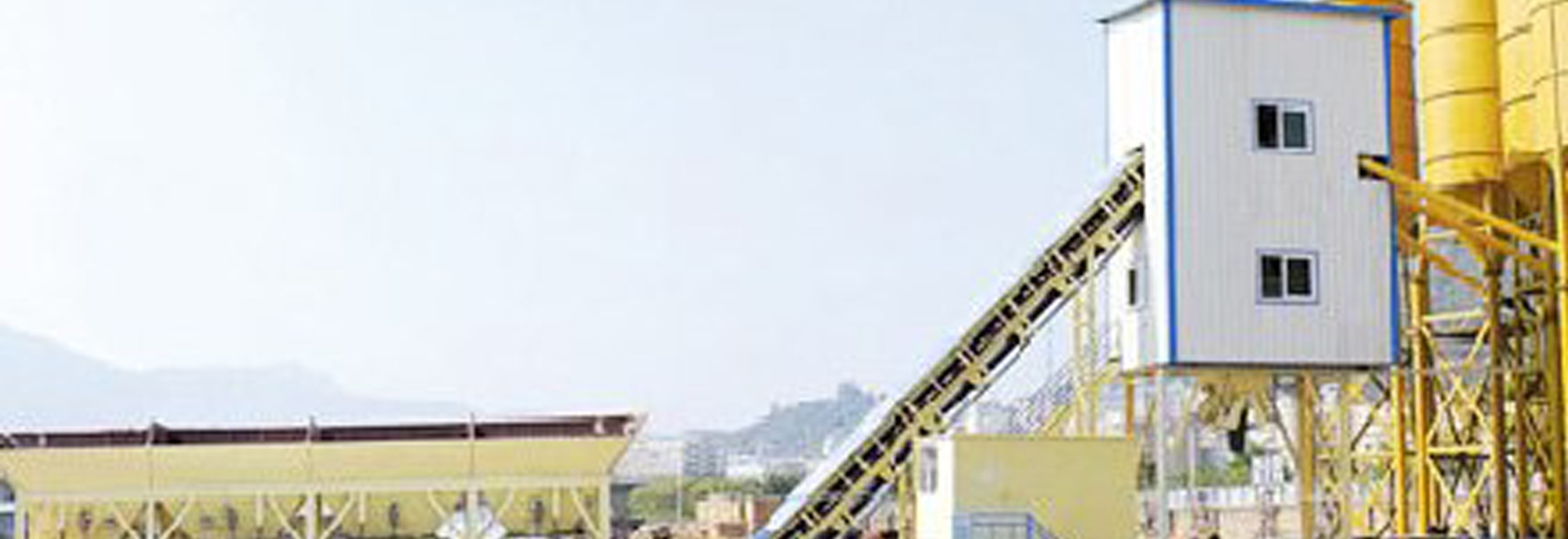 HZS60 Concrete Batching Plant in Morocco