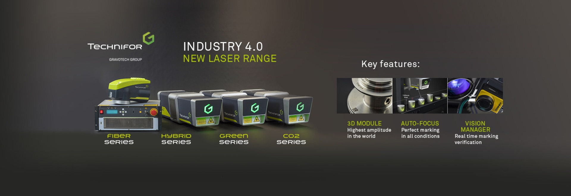 Industry 4.0 : Gravotech introduces « Laser Solution» : new marking and traceability range Rillieux