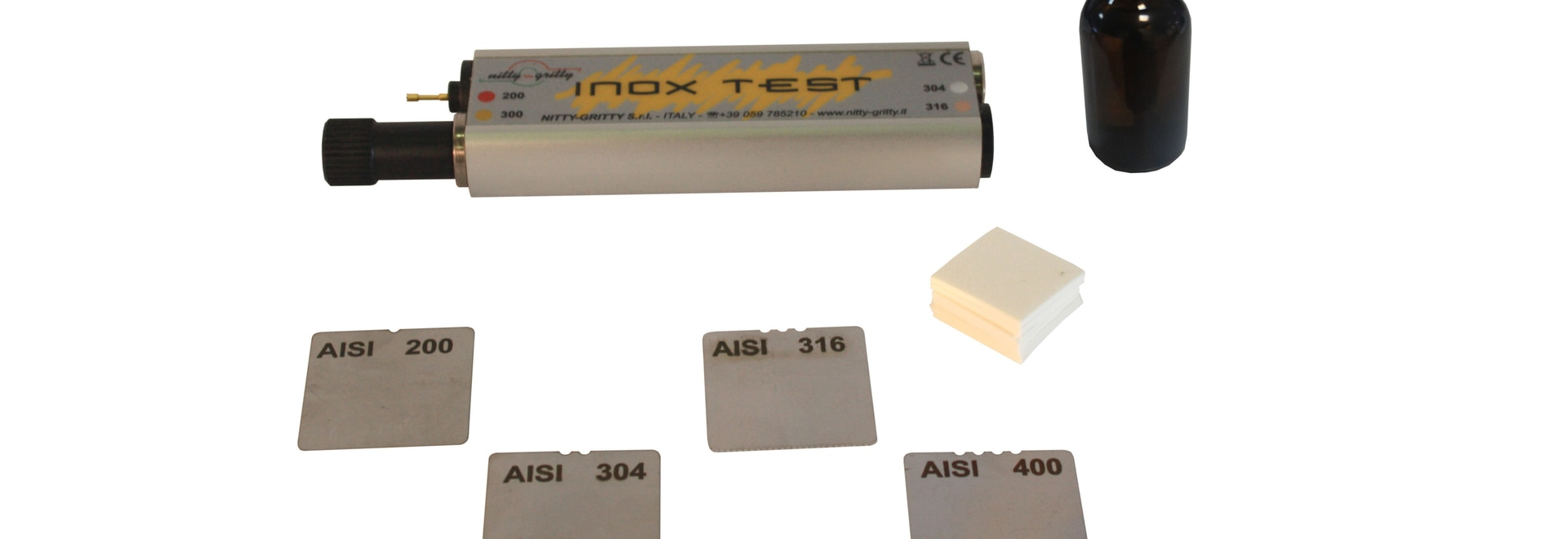 INOX TEST: How to recognize the AISI class of your stainless steel