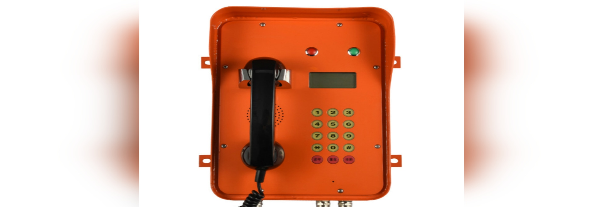 Introduction of  Joiwo's rugged   industrial telephone with LCD display