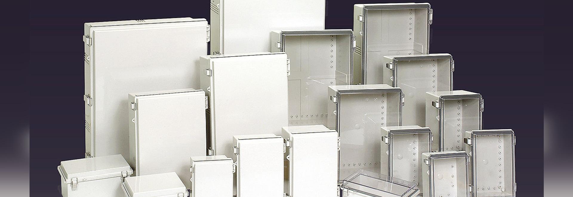 IP66/67 Plastic hinge type enclosure