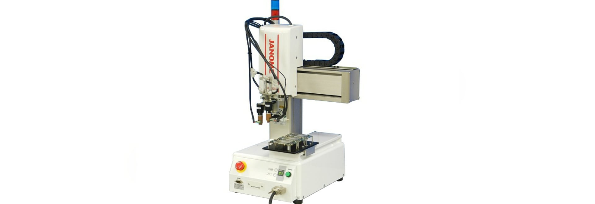 Janome Robot Proves Useful as a PC Board Continuity Testing Device