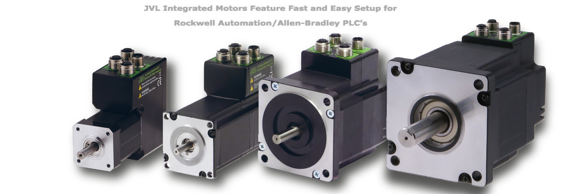 JVL Integrated Motors Feature Fast and Easy Setup for Rockwell Automation/Allen-Bradley PLCs