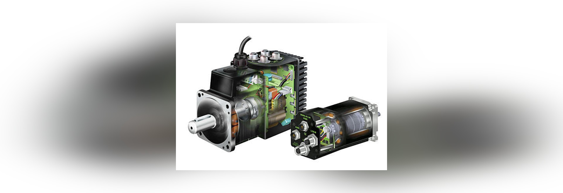 JVL - world leader in integrated servo and stepper motors at SPS IPC Drives 2015