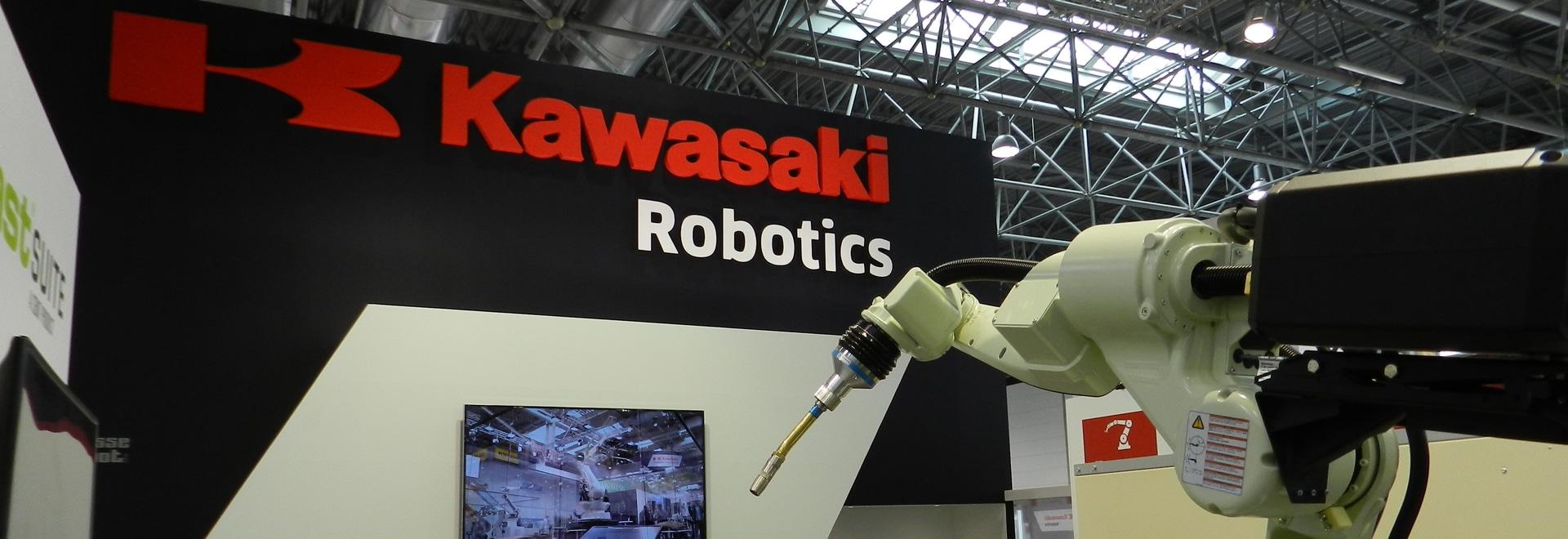 Kawasaki Arc Welding Robot BA006L at Schweißen & Schneiden 2017