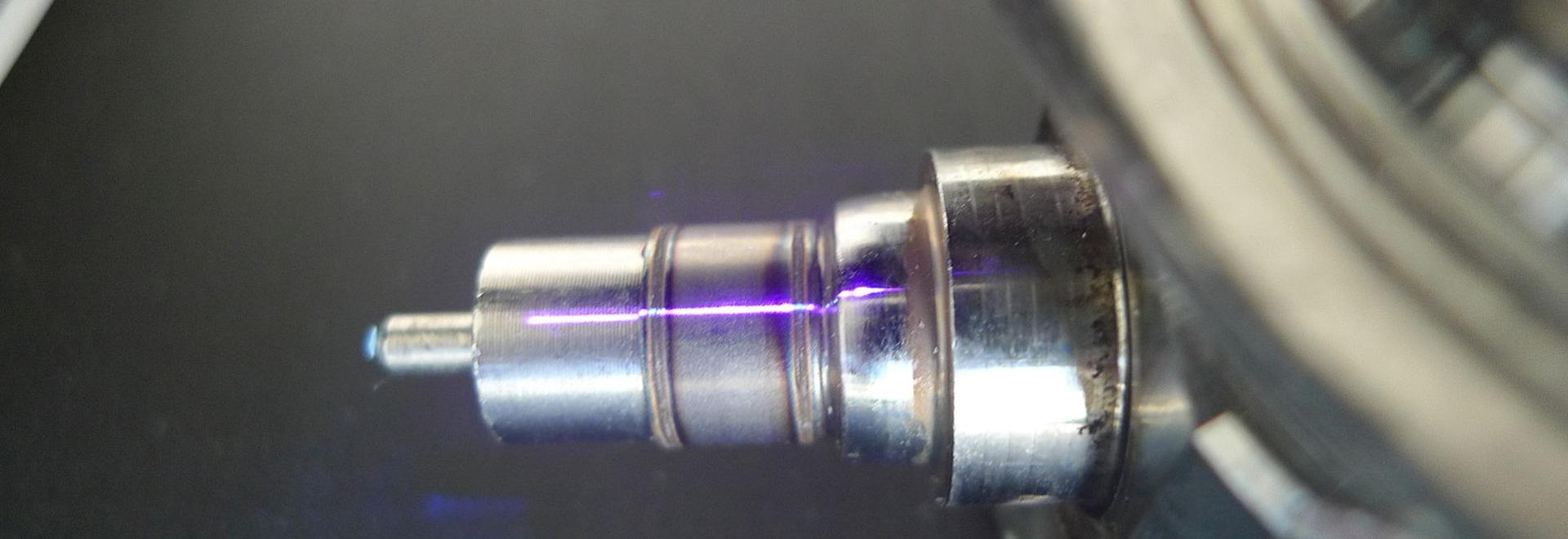 Laser Weld Seam on fuel pump valve body
