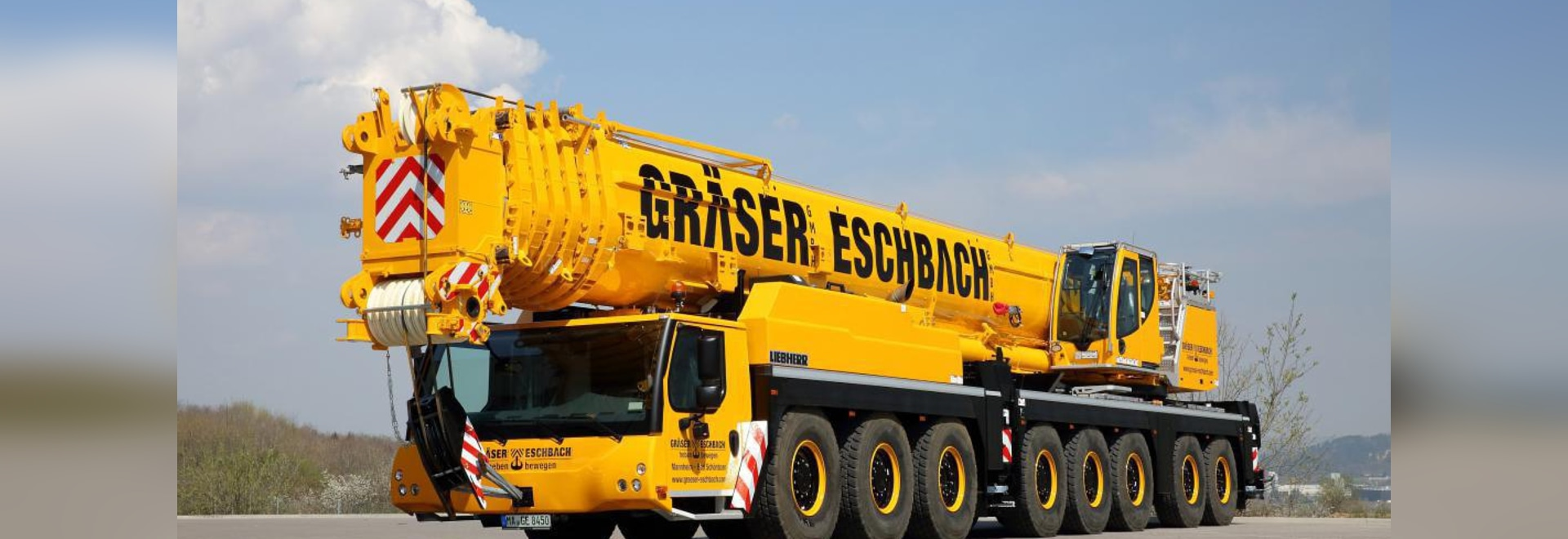 Liebherr mobile crane becomes crown jewel of German crane hire company