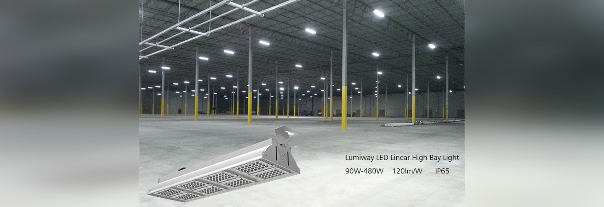 Led Linear High Bay Light In Warehouse In Usa Shenzhen Guangdong China Yaham Optoelectronics Co Ltd