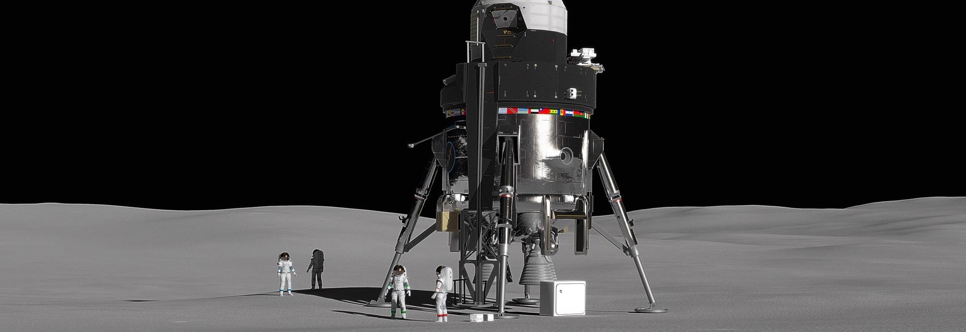 Lockheed Martin Crewed-Lunar-Lander