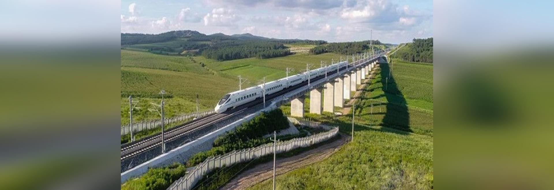 The longest express railway in China's alpine region has opened