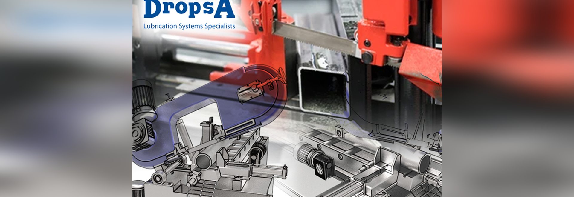 Lubrication systems for sawing machines