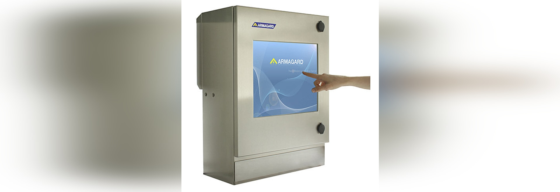 Make your production-line more efficient with the SENC-350 Waterproof Touch Screen Enclosure