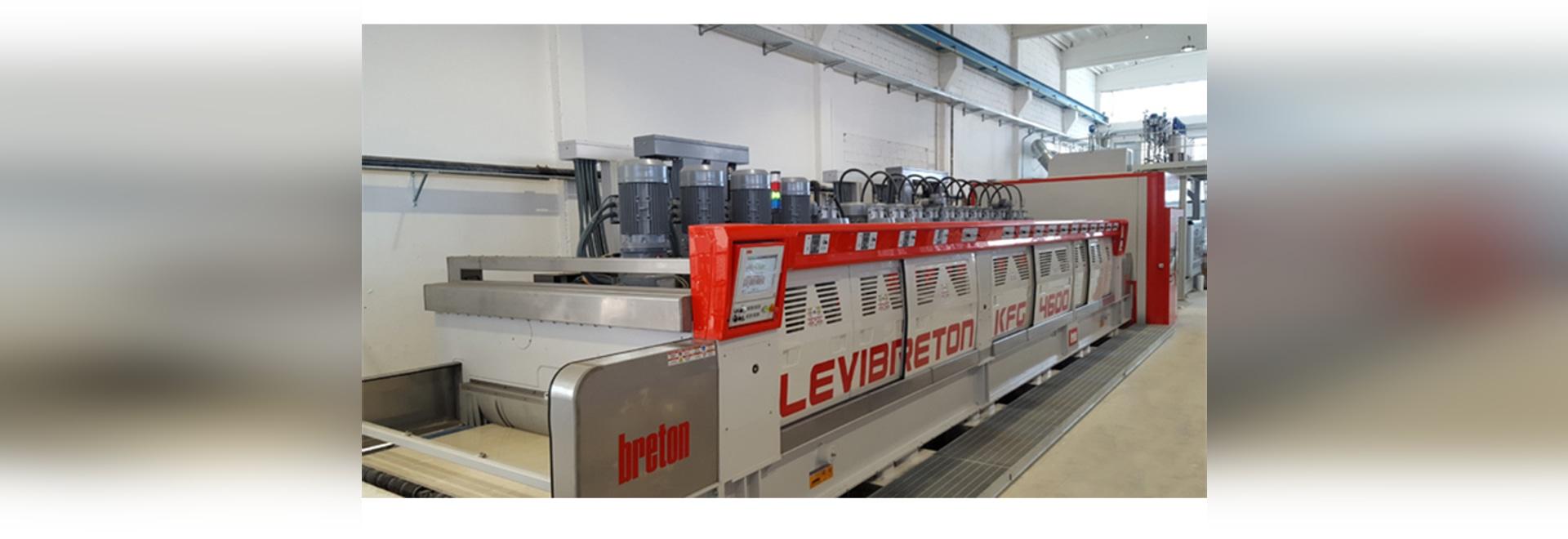 Marmi Bonazzo chooses the best solution to polish marble: the Levibreton KFG4600 line