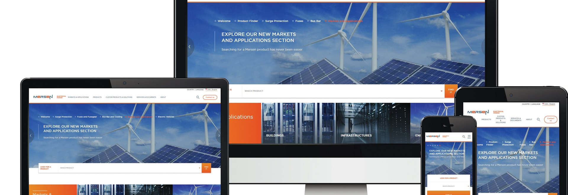 Mersen Electrical Power Announces Launch of New Global Website