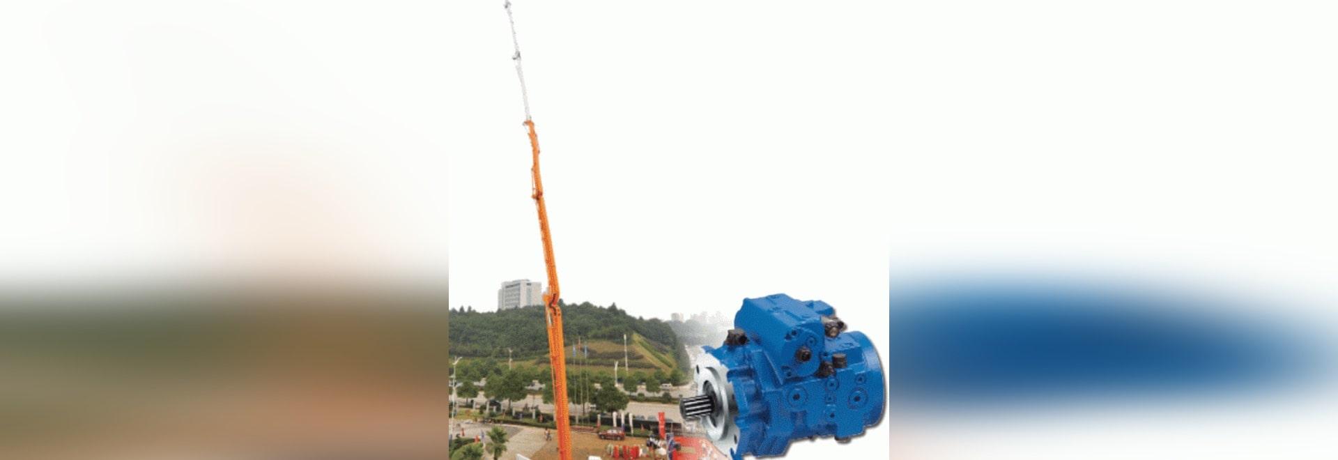 Mobile Concrete Pump Breaks 100-m Height Barrier