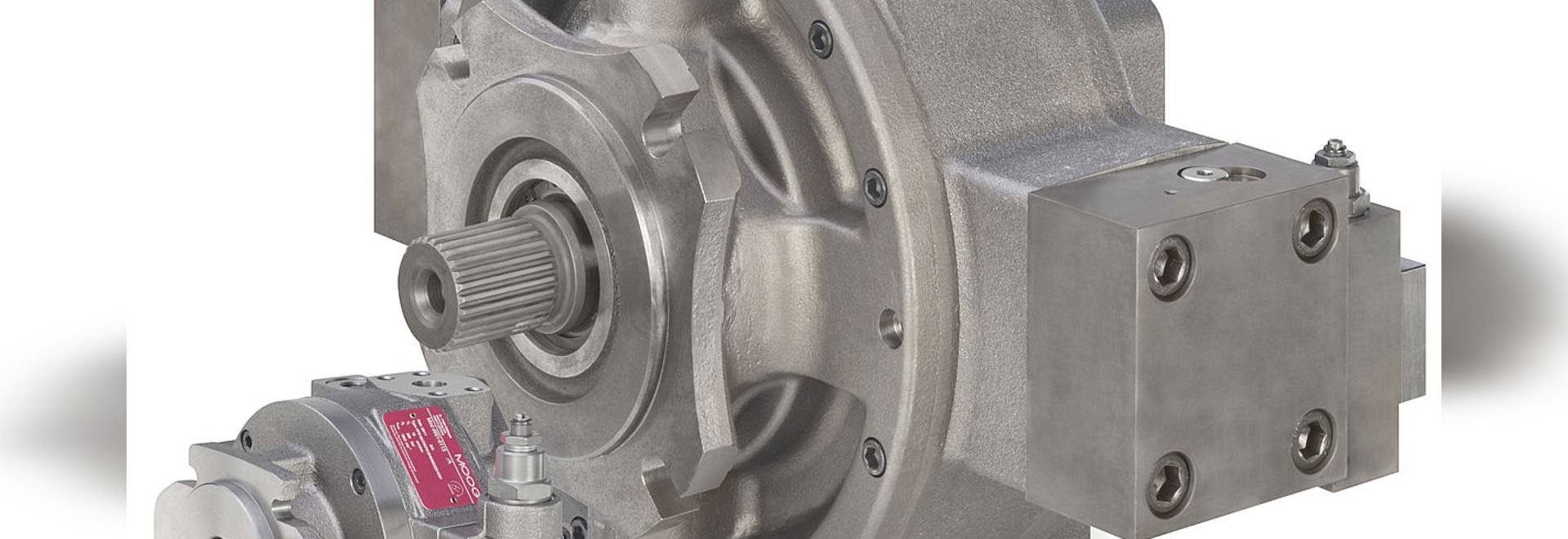 Moog Unveils its Largest Radial Piston Pump for Industrial Applications