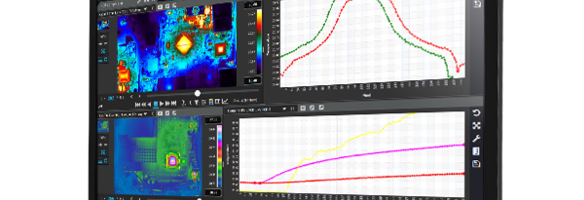 Multi-Platform Software for Thermal Imaging Data Collection and Analysis