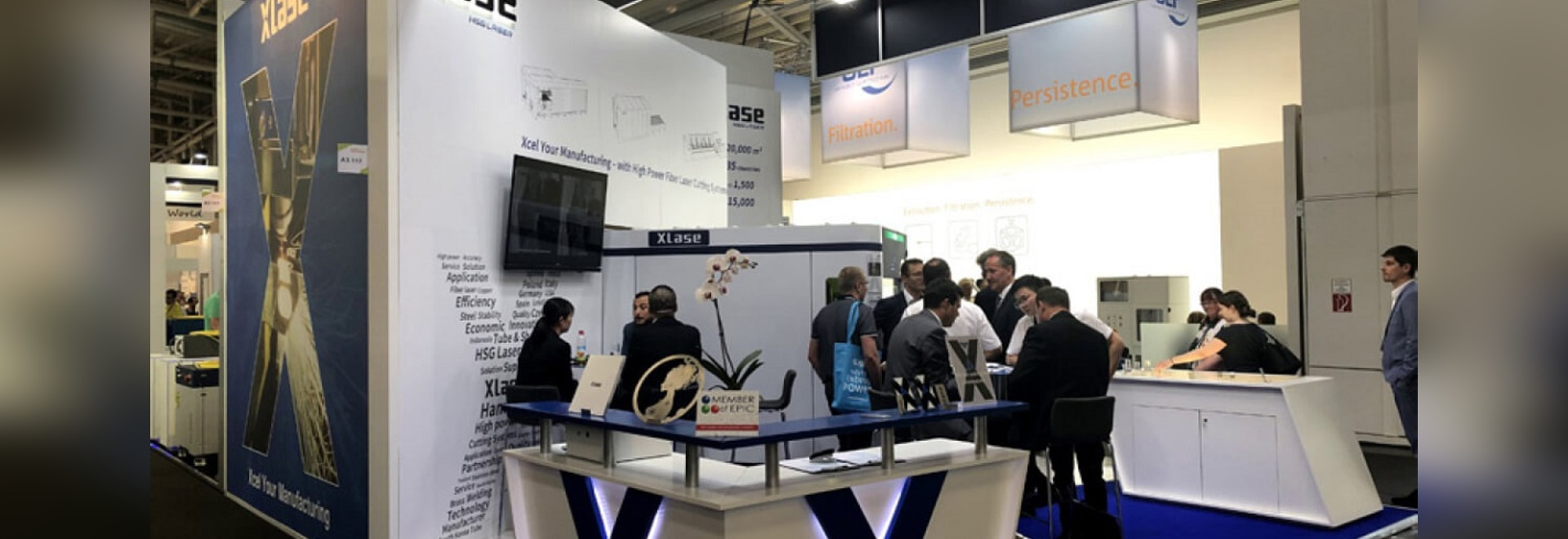 """Munich Photonics Exhibition Between the electro-optical light to explore the """"smart manufacture"""" experience"""