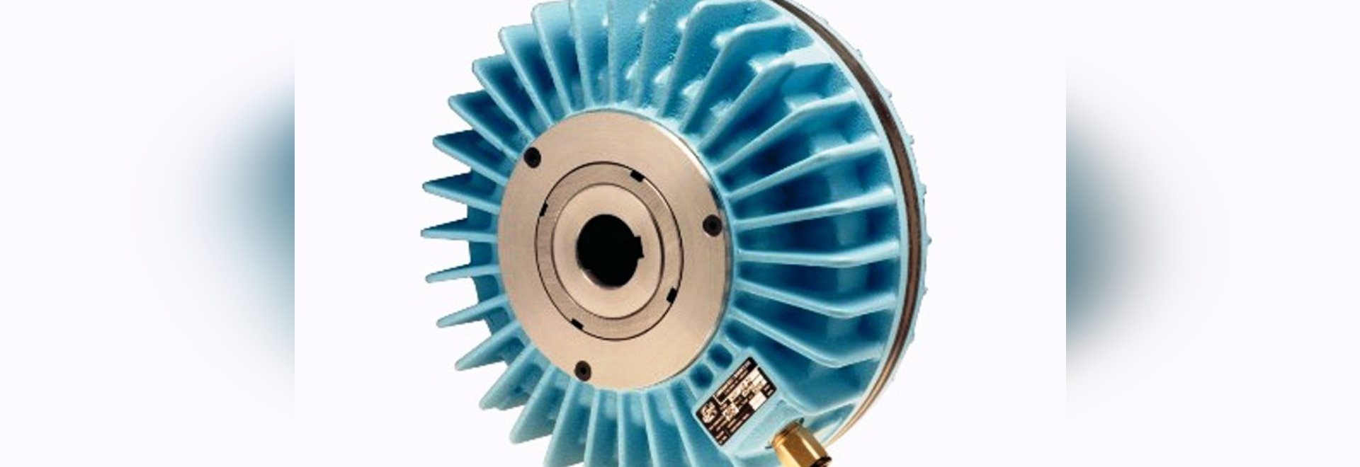 NEF self-supporting pneumatic clutch/brake without rotary air inlet.