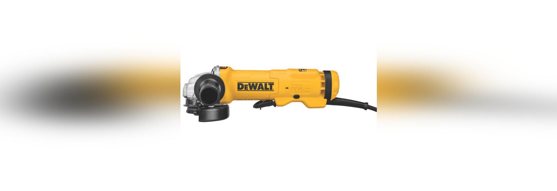 NEW: angle grinder by DEWALT Industrial Tool