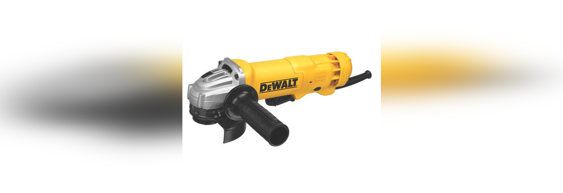 NEW: angle grinder by DEWALT Industrial Tool