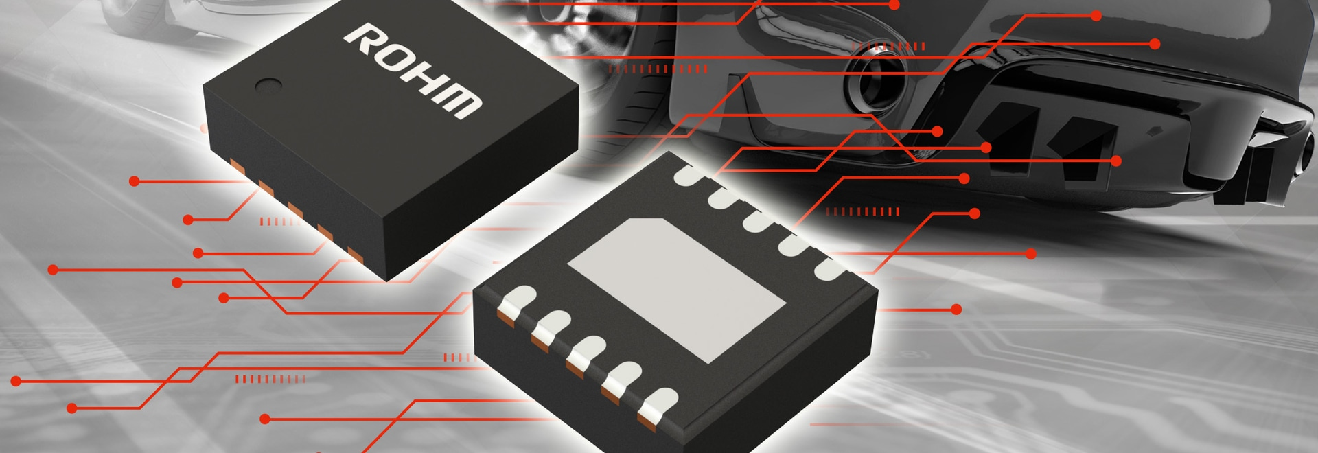 New Automotive Monolithic LED Driver that Ensures Stable Lighting Even During Battery Voltage Drops