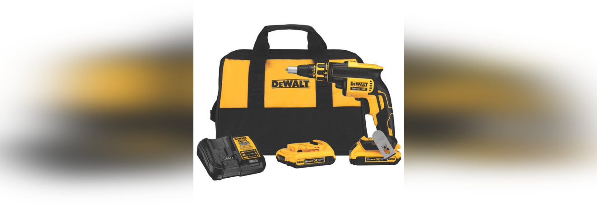 NEW: brushless electric screwdriver by DEWALT Industrial Tool