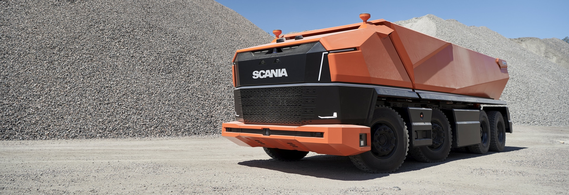 A new cabless concept – revealing Scania AXL