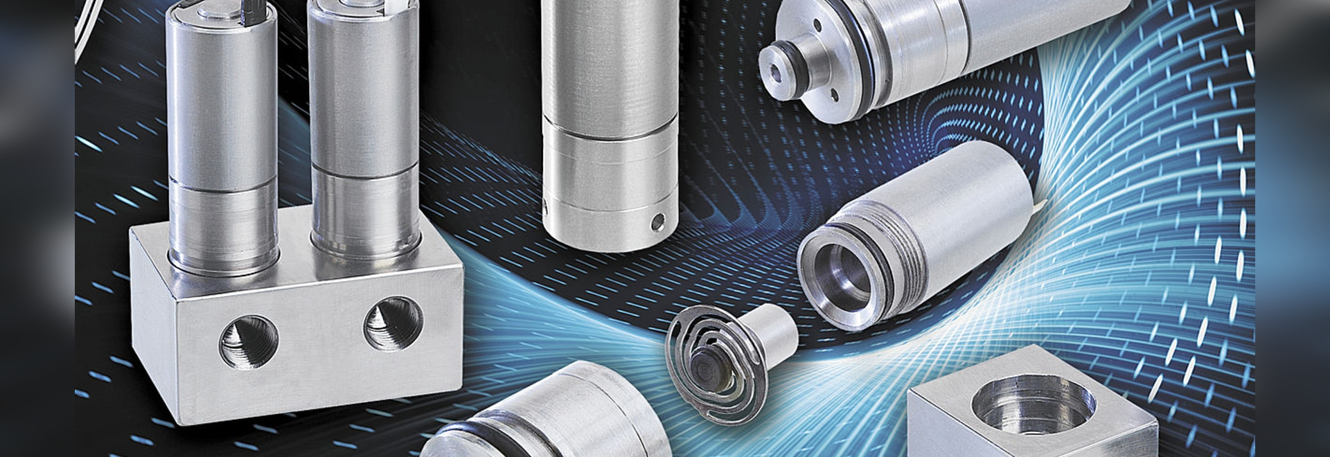 NEW CLIPPARD High Flow 2/2 Bidirectional Electronic Valves