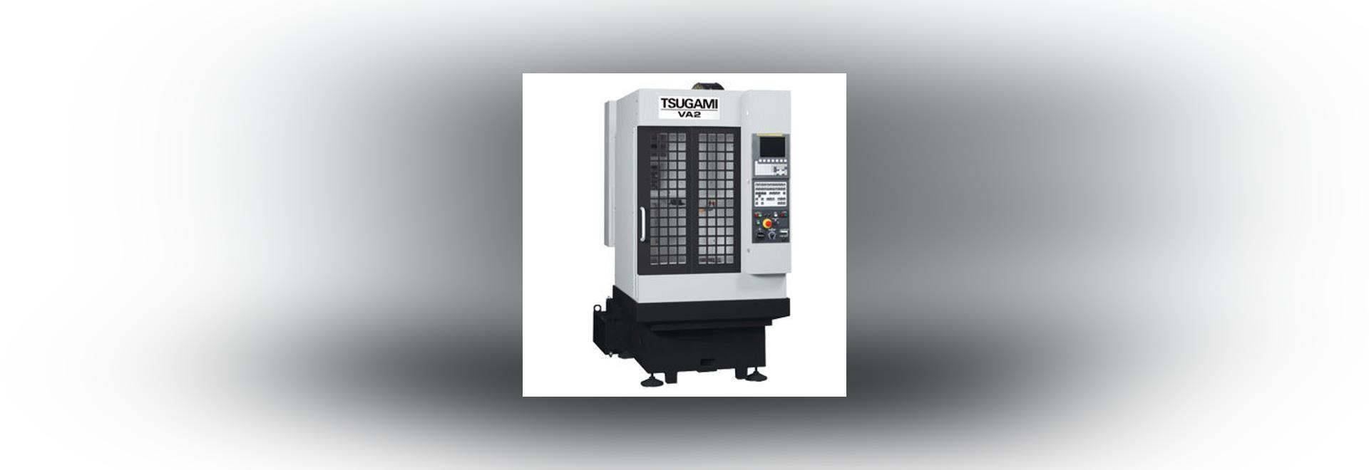 NEW: CNC machining center by Tsugami