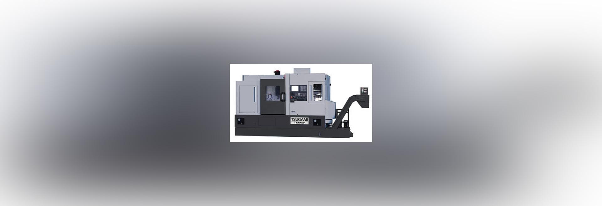 NEW: CNC turning center by Tsugami