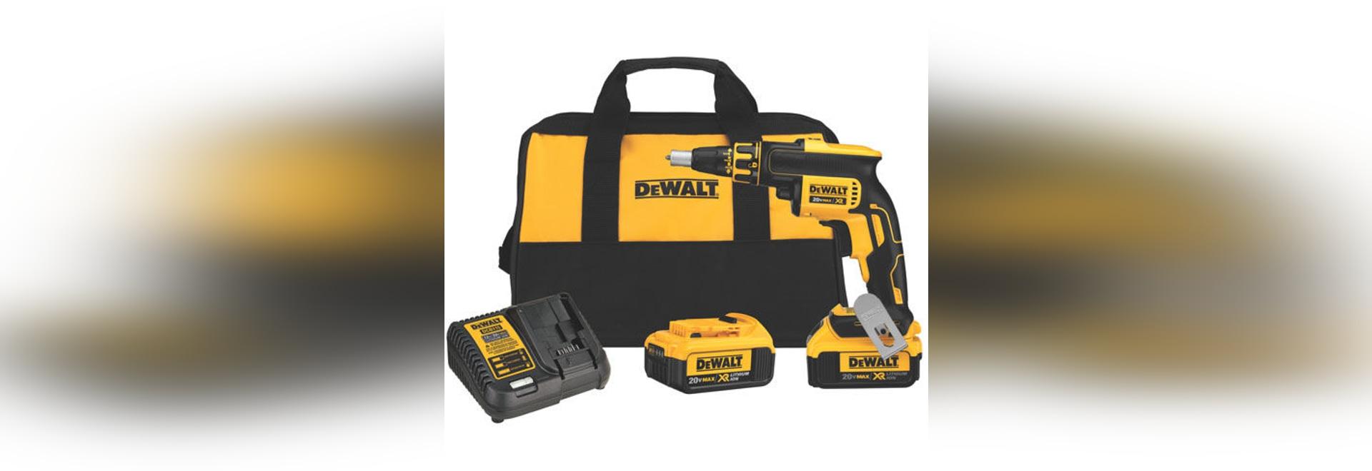NEW: corded electric screwdriver by DEWALT Industrial Tool