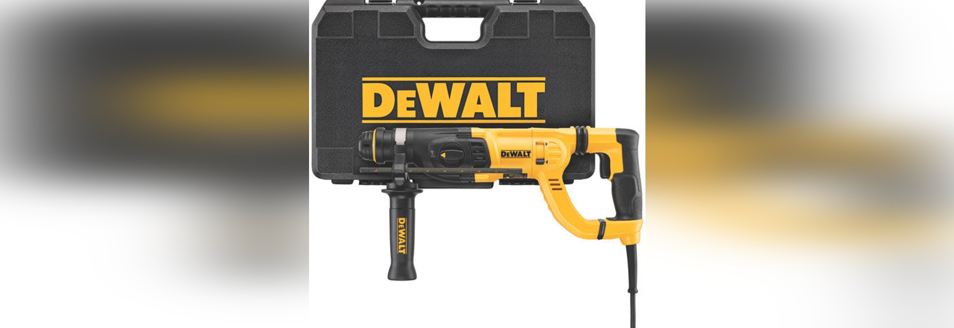 NEW: electric rotary hammer by DEWALT Industrial Tool