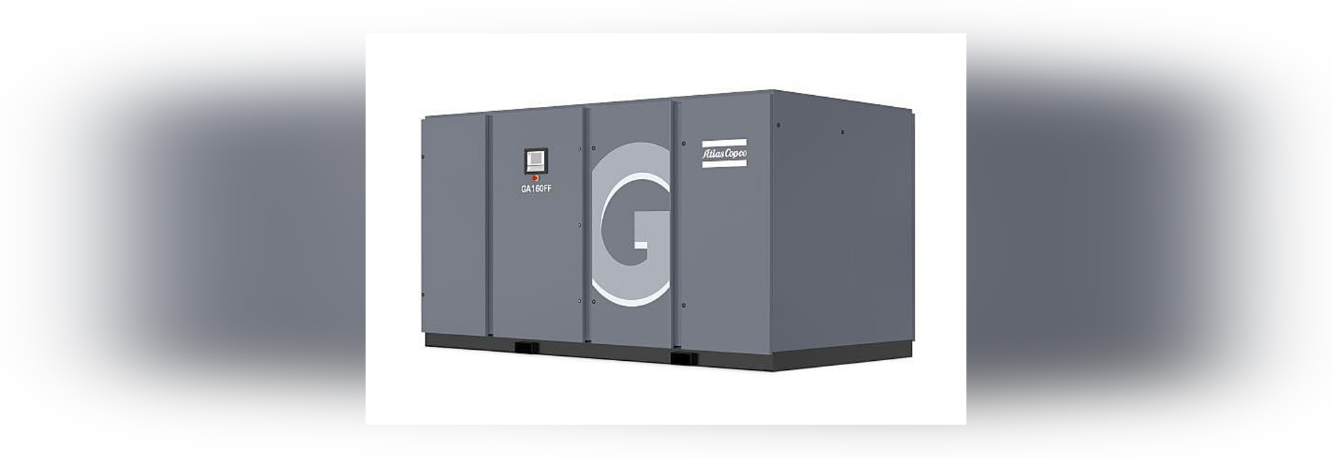 New energy savers GA 90+-160 air compressors from Atlas Copco