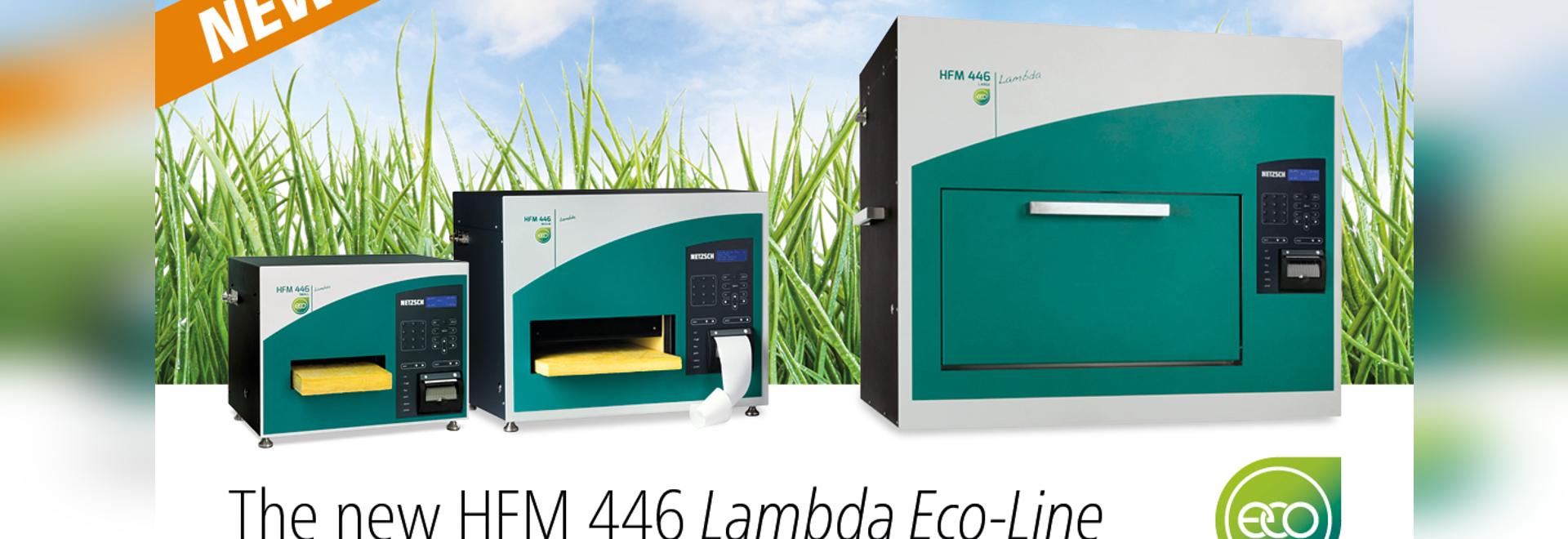 The New HFM 446 Lambda Eco-Line