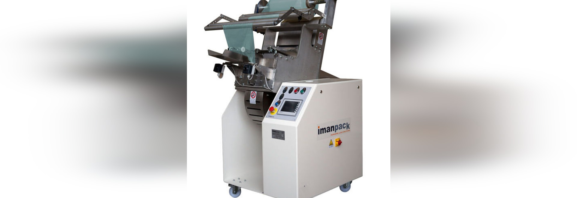 NEW: horizontal wrapping machine by IMANPACK Packaging & Eco Solutions S.p.a.