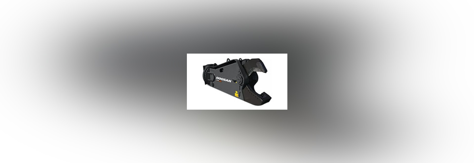 NEW: hydraulic demolition shears by DAEWOO Construction Equipment Division