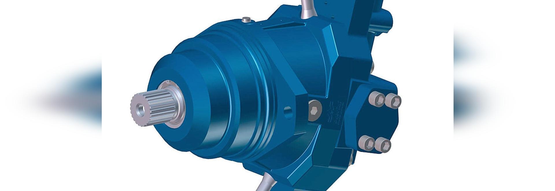 NEW: hydraulic motor by Brevini Power Transmission - Brevini