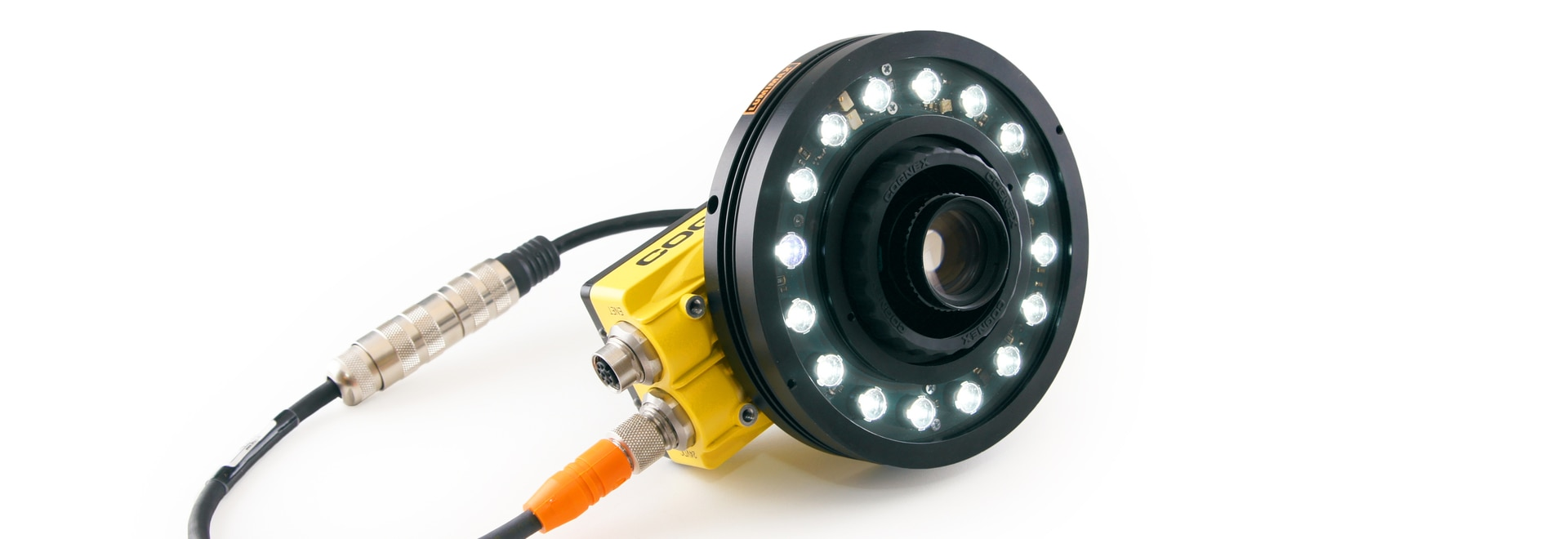 New LED High Power LR50 ring light from the brand LUMIMAX® (connected to the camera directly via T-Adapter cable)