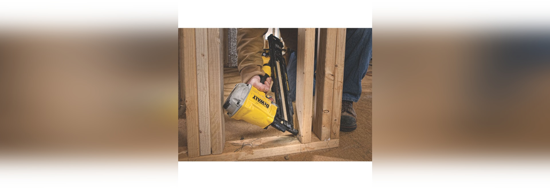 NEW: nail gun by DEWALT Industrial Tool