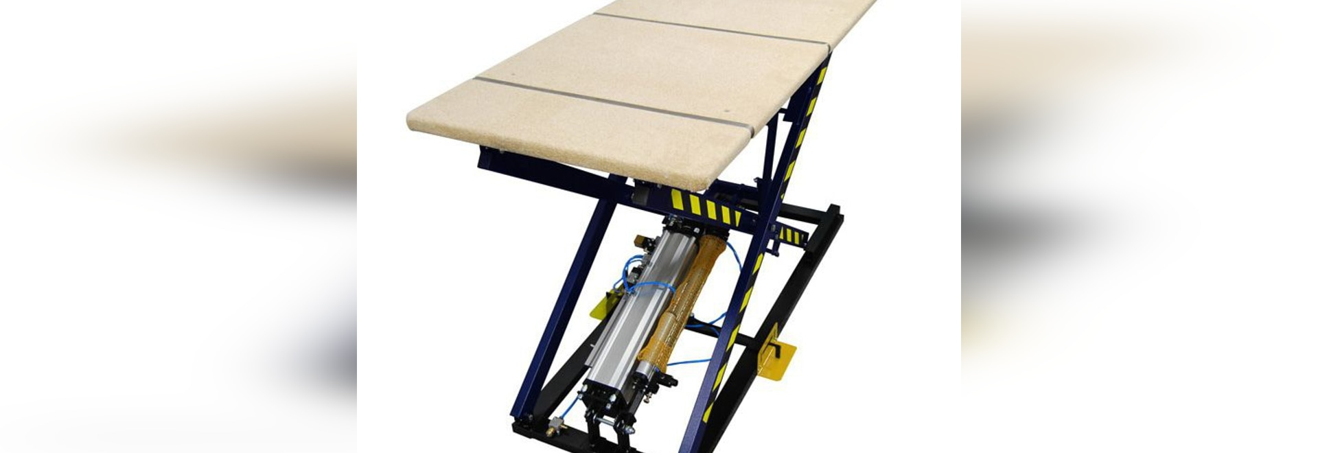NEW: pneumatic lift table by REXEL