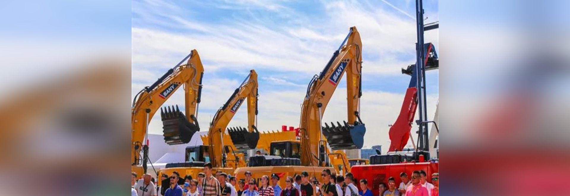 New Sany catches eyes at China BICES 2017